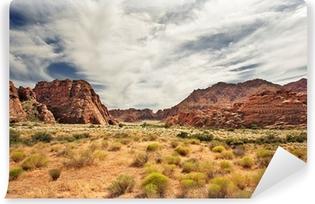 Papier Peint Autocollant Red Canyon à Snow Canyon, Utah