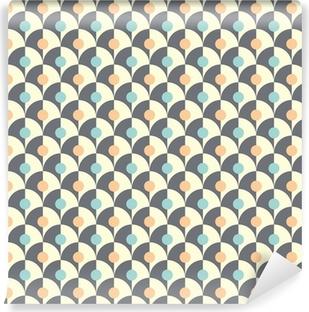 Papier peint autocollant Seamless simple motif géométrique rétro de style classique