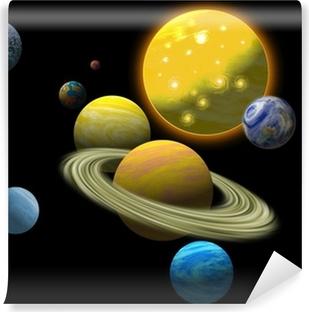 Papier Peint Autocollant Solar system