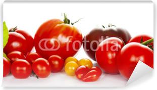 Papier Peint Autocollant Tomates au basilic