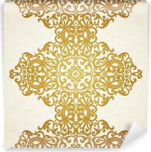 Papier peint autocollant Vecteur frontière transparente dans le style victorien. Élément de design.