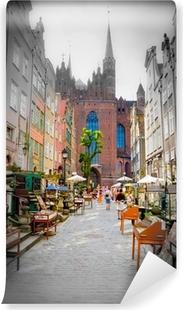 Papier Peint Autocollant Ville historique de Gdansk
