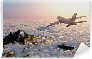 Papier Peint Vinyle Avion de passagers