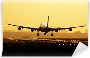 Papier Peint Vinyle Avion lever atterrissage