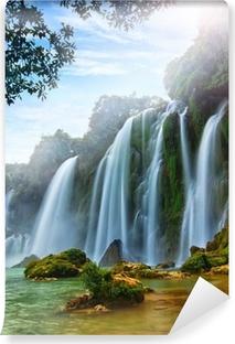 Papier peint vinyle BanGioc Cascade au Vietnam