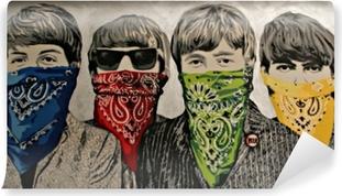 Papier peint vinyle Banksy