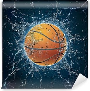 Papier peint vinyle Basket-ball