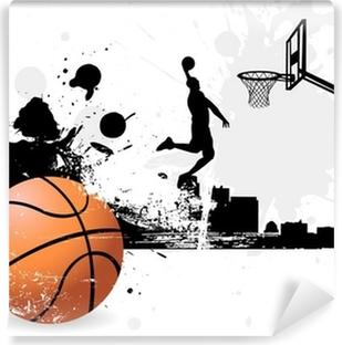 Papier peint vinyle Basketteur