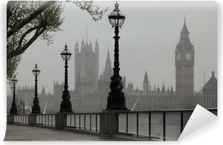 Papier peint vinyle Big Ben et Houses of Parliament