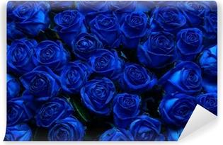 Papier peint vinyle Blue roses