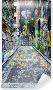 Papier peint vinyle Bonnetier Lane - Melbourne
