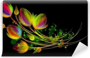 Papier peint vinyle Bouquet lumineux