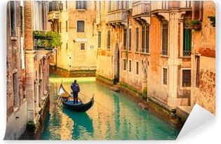 Papier peint vinyle Canal à Venise.