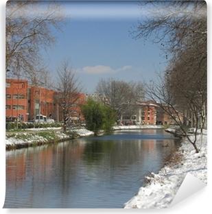 Papier peint vinyle Canal du Midi, Toulouse, Haute-Garonne, Midi-Pyrénées