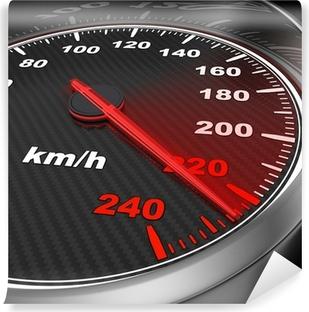 Papier peint vinyle Car speedometer