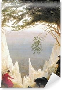 Papier peint vinyle Caspar David Friedrich - Falaises de craie sur Rügen