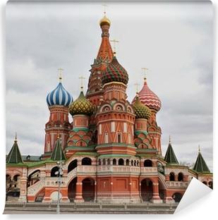 Papier peint vinyle Cathédrale Saint-Basile, Moscou, Russie