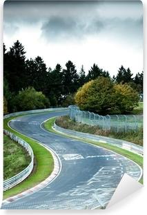 Papier peint vinyle Circuit de course