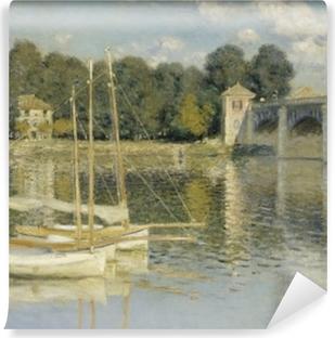 Papier peint vinyle Claude Monet - Le Pont d'Argenteuil