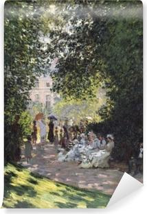 Papier peint vinyle Claude Monet - Parc Monceau