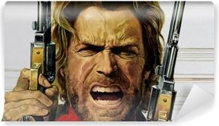 Papier peint vinyle Clint Eastwood
