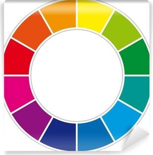 Papier peint vinyle Color Wheel