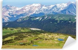 Papier peint vinyle Colorado montagnes rocheuses
