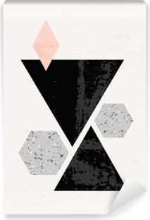 Papier peint vinyle Composition géométrique abstraite