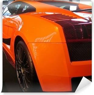 Papier peint vinyle Côté de l'orange supercar