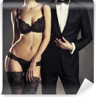 Papier peint vinyle Couple sensuel