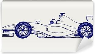 Papier peint vinyle Course formule 1
