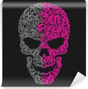 Papier peint vinyle Crâne cru