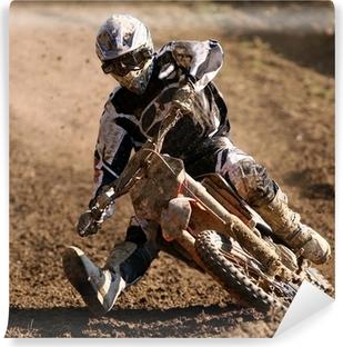 Papier Peint Vinyle Cross moto