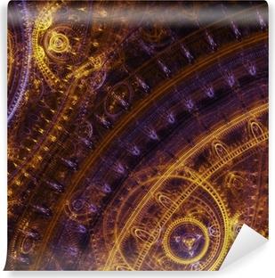 Papier peint vinyle Dessin fantaisie steampunk