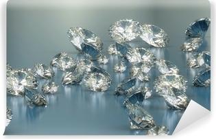 Papier peint vinyle Diamants