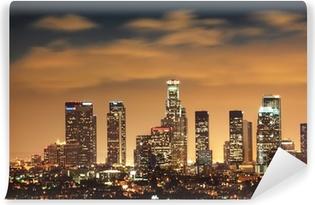 Papier peint vinyle Downtown Los Angeles Skyline