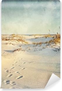 Papier peint vinyle Dunes de sable au coucher du soleil Image texturée