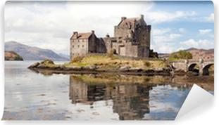 Papier peint vinyle Eilean Donan Castle, en Écosse, Panorama