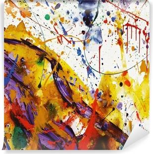Papier peint vinyle Faire de la peinture