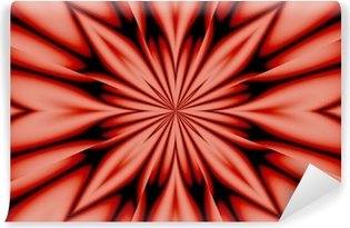 Papier peint vinyle Fleur de soie - rose