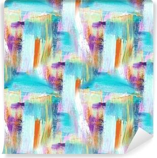 Papier peint vinyle Fond d'art abstrait. fond peint à la main. photo acrylique. modèle sans couture.