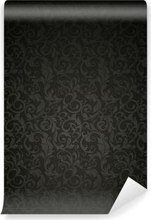 Papier peint vinyle Fond d'écran Black Pattern
