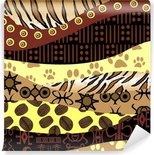 papiers peints motifs africains pixers nous vivons. Black Bedroom Furniture Sets. Home Design Ideas