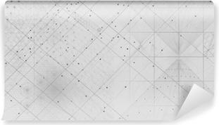 Papier peint vinyle Fond de symboles et d'éléments de la géométrie sacrée