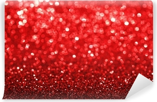 Papier peint vinyle Fond paillettes rouge