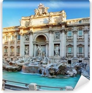 Papier peint vinyle Fontaine de Trevi. Rome, Italie