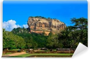 Papier peint vinyle Forteresse de Sigiriya Rock