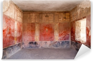 Papier peint vinyle Fresque à l'ancienne ville romaine de Pompéi
