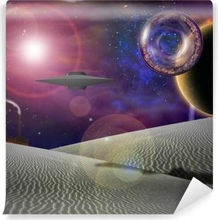 Papier peint vinyle Future Science Fiction