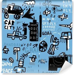 Papier peint vinyle Graffiti